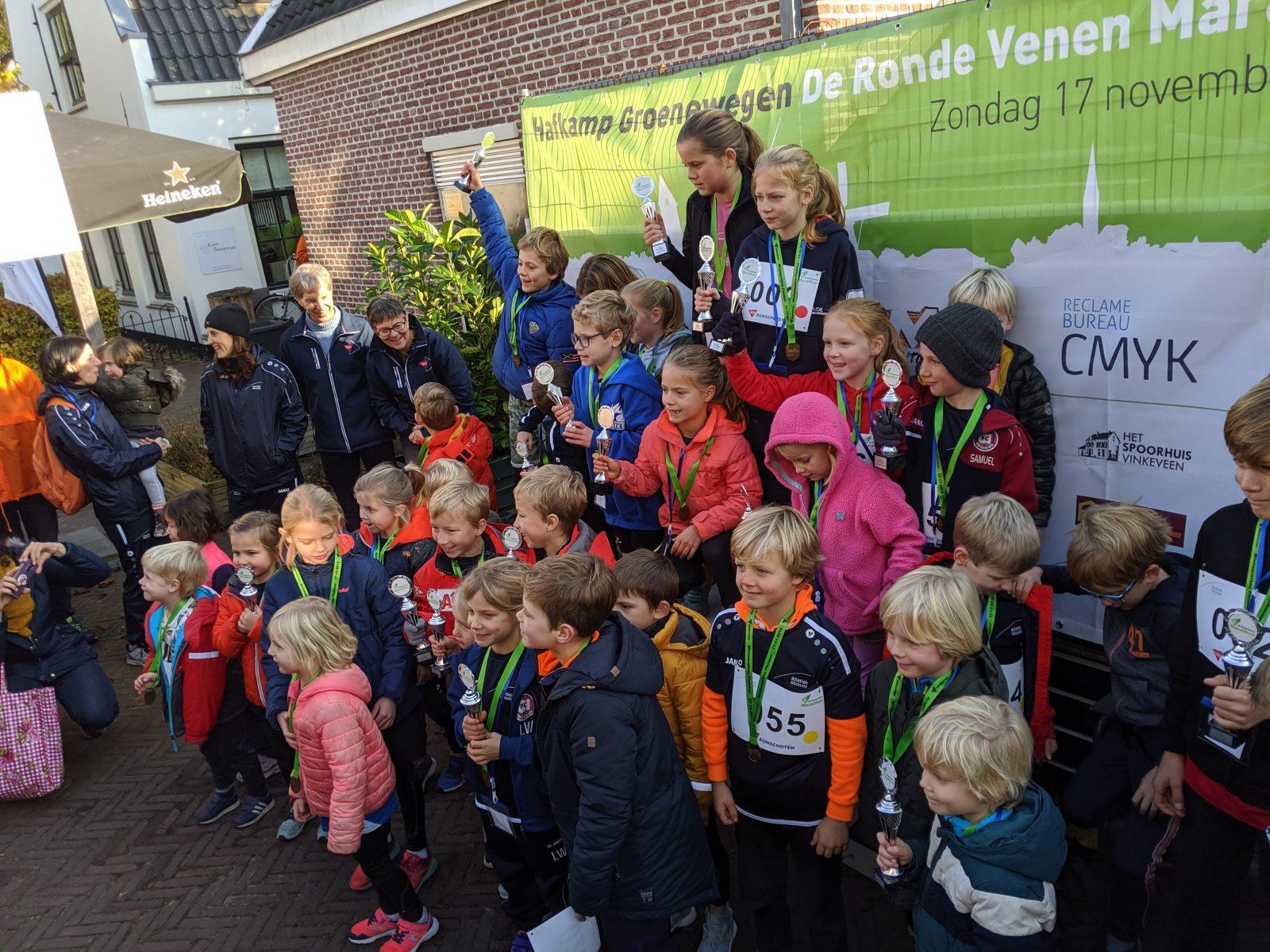 Winnaars mini marathon